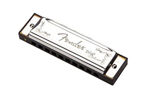Fender® Blues Deluxe™ Harmonica Key-A - Armonica A Bocca - Chiave di A