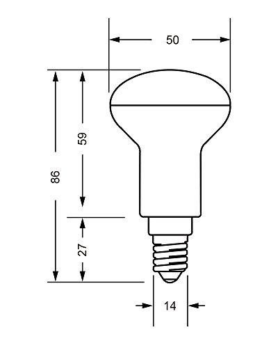 LED FACTORY 6W E14 LED Lampen 480lm Warmweiß, Ersatz für 60W Glühlampen, 2800K, 120° Abstrahlwinkel, LED Birnen, LED Leuchtmittel, 6er Pack - 3