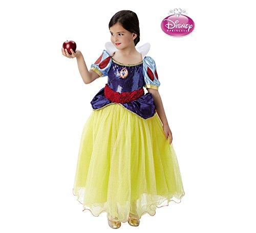 Disney Princesas Disfraz infantil Blancanieves Premium, L (Rubie's Spain...