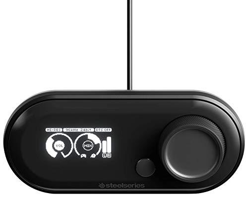 SteelSeries GameDAC - DAC de jeu et amplificateur certifiés haute résolution GameDAC pour PS4 et PC