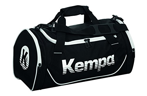 Kempa Sporttasche 30 L (S) Tasche, schwarz/Weiß, 45 cm