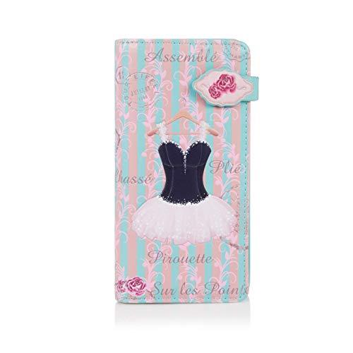 Shagwear Junge-Damen Geldbörse, Large Purse Designs: (Ballerina)