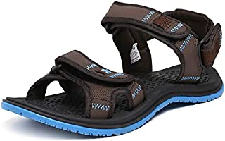 Wildcraft Men's Joo Brown/Blue Sport Sandals WC 51556 BRN_Blue - 11 UK/India (45 EU)