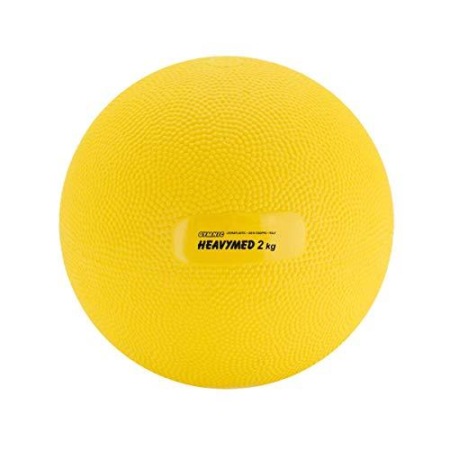 GYMNIC Heavymed–Balón terapéutico Amarillo