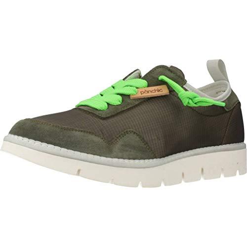 Panchic Calzado Deportivo P05M14005NS1 para Hombre Verde 44 EU