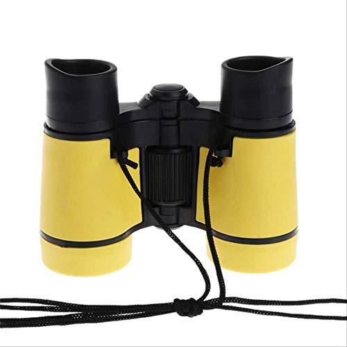 4x30 Telescopio de binoculares para niños de plástico para niños Juegos al Aire Libre Juguetes Compacto Nuevo