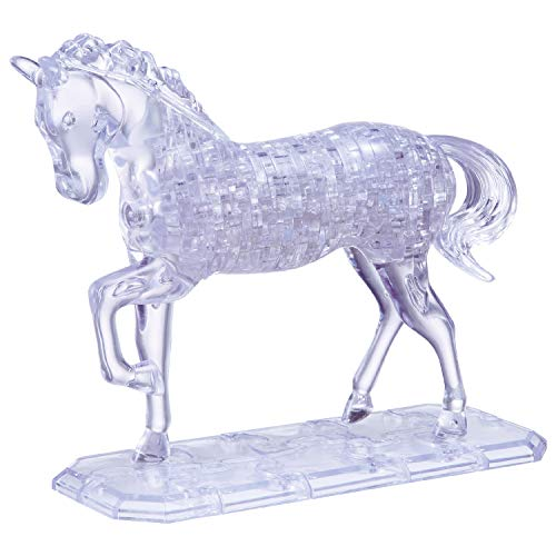 HCM Kinzel 9001 - Puzzle de cristal en 3D diseño Caballo [Importado...
