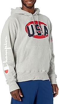 Champion Men's Exclusive USA Reverse Weave Sweatshirt