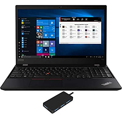 "Lenovo ThinkPad P53s Workstation Laptop (Intel i7-8565U 4-Core, 16GB RAM, 512GB m.2 SATA SSD, Quadro P520, 15.6"" Full HD (1920x1080), Fingerprint, WiFi, Bluetooth, Webcam, Win 10 Pro) with USB3.0 Hub"
