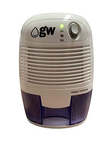 gw-Dehumidifiers - Compact Mini Dehumidifier 500ml (RRP. ?39.99)