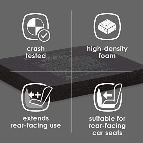 Diono Angle Adjuster, for Rear-Facing Convertible Child Car Seats, Black
