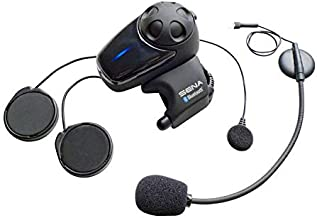 Sena SMH10-11 Motorcycle Bluetooth Headset / Intercom with Universal Microphone Kit (Single)