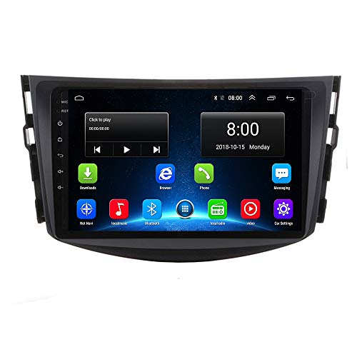 RAV 4 2006-2012 Android 9.1 IPS Car Radio GPS Stereo Navi for Toyota RAV 4 2006-2012 Head Unit Multimedia Video Player with Bluetooth WiFi BT Touch Screen Navigation (Toyota RAV 4 Android 9.1 2+32G)
