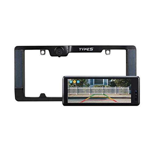 "TYPE S 6.8"" Widescreen Solar Powered HD Wireless Backup Camera 2.0"