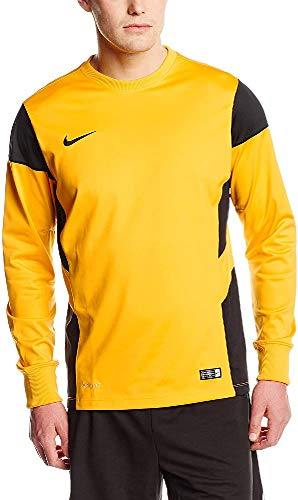 Nike Felpa Uomo Midlayer Academy 14, Uomo, Sweatshirt Midlayer Academy 14, Universität Gold/Schwarz, S