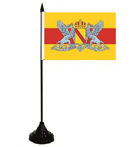 U24 Tischflagge Großherzogtum Baden Fahne Flagge Tischfahne 10 x 15 cm