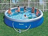 Bestway 57066 - Kit de piscina redonda para piscina Bestway FAST (diámetro: 244 x 66 cm)