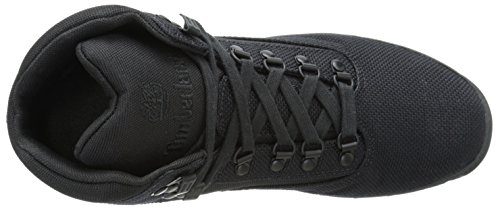 Timberland Men's Euro Hiker Mid Fabric Fashion Sneaker, Olive, 9 M US