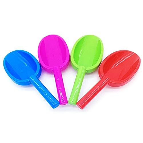 Pala pequeña 4 piezas de juguetes de playa para niños, pala para jugar con arena y arena de plástico, pequeña pala (color: como se muestra)