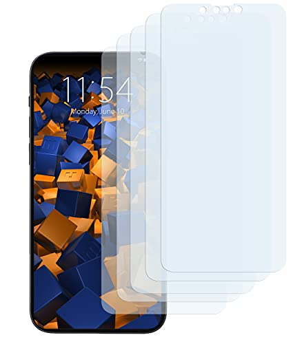 mumbi Schutzfolie kompatibel mit iPhone 13 Mini Folie klar, Bildschirmschutzfolie (5X)