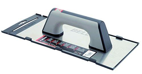 Bellota 5861-1 A BIM INOX - Llana recta de acero inoxidable (300x150mm) afilada con mango bimaterial