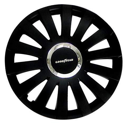 Cartrend 10629 Auto Radkappen Radzierblenden Reno 4 er Set, 35.56 cm (14 Zoll) schwarz