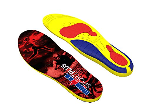 Spenco Ironman Sport Plus Shoe Insole, Small