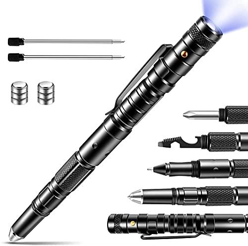 Geschenke für Männer,Multifunktionaler Werkzeugstift,9 in 1 Multi-Tool-Stift,Vatertagsgeschenk,Coole Werkzeug Kleine Geschenke ,Taktischer Stift.