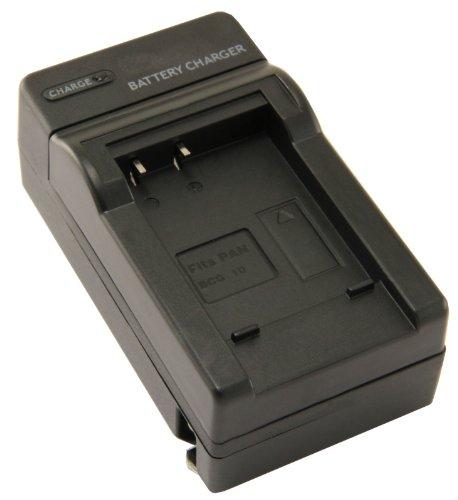 STK's Panasonic DMW-BCG10PP Digital Camera Charger - for Panasonic Lumix DMC-ZS7, DMC-ZS6, DMC-ZS10, DMC-ZS5, DMC-ZS3, DMC-ZS8, DMC-ZS1, DMC-ZR3, DMC-ZR1, DMC-TZ10, DMC-TZ7, DMC-TZ20, DMW-BCG10, DMC-TZ8, DMC-ZX3, DMC-TZ6, DMC-ZX1, DMC-TZ18, DMW-BCG10E, DMC-TZ19