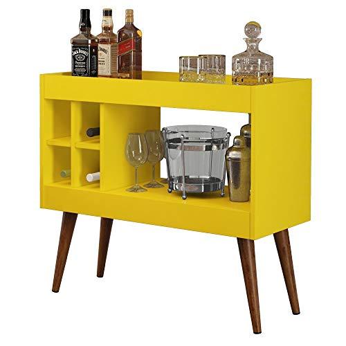 Aparador Bar com Adega Laguna - Amarelo - RPM Móveis