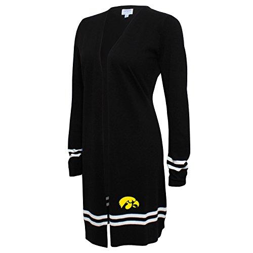 NCAA Damen NCAA Campus Specialties Long Open Cardigan, Damen, NCAA Women's Campus Specialties Long Open Cardigan, schwarz, Small