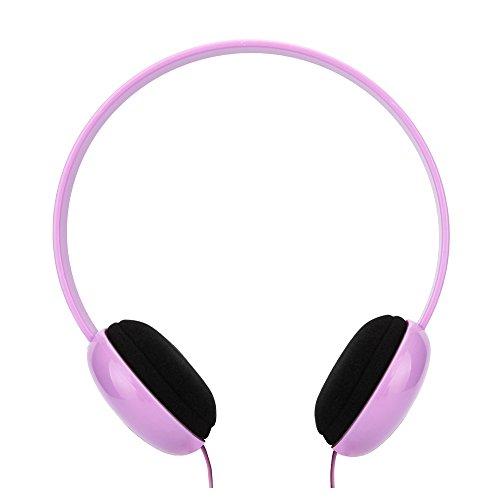 RockPapa OV250 Cuffie Auricolari per Bambini, Regolabile, Over-Ear Headphones per iPad Air iPad mini, innoTab LeapPad Nabi, DVD iPod MP3/4