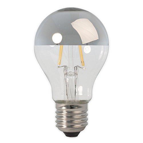 Calex Standard gloeilamp lamp hoofd spiegel met LED 4 met 40 stuks vervangt grote E27 stekker zilver
