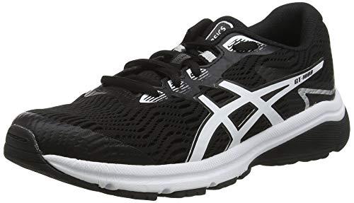 ASICS 1014A068-33 Running Shoes, Schwarz Black White 001, EU