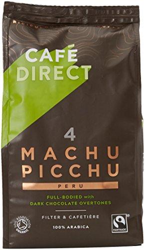 Cafédirect Machu Picchu Organic Fairtrade Ground Arabica Coffee 227g (Pack of 6)