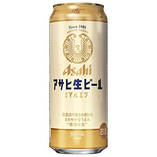 【飲食店で愛され続けたまろやかな味わい】アサヒ 生ビール (マルエフ) [ ビール 500ml×24本 ]
