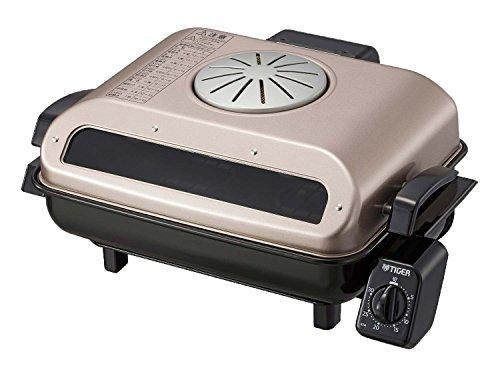タイガーフィッシュロースター両面魚焼き器ロゼブラウンKFA-H130-TR