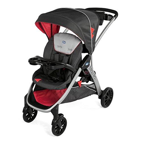 Chicco - Poussette Double Stroll In 2 - Enfants d âges Rapprochés, avec 2 sièges - Lava
