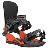 Union – Fijaciones de snowboard Strata (Team HB), color naranja, 20306, naranja, large