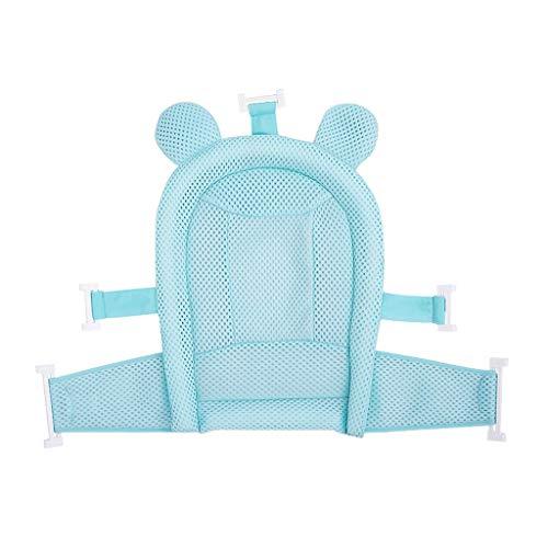 Babybadesets für Unterwegs Baby-Bad-Net Anti-Rutsch-Matten-Baby-Bad-Net Neugeborene Badetasche Kinder Badewanne Ständer Sitz Liegen Universal-Badematte Baby-Bad-Unterstützung Sitz