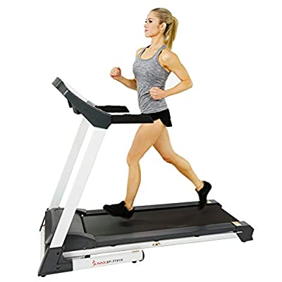 Sunny Health & Fitness SF-T7515 Smart Treadmill with Auto Incline, Sound System, Bluetooth and Phone Function SF-T7515 by Sunny Distributor Inc.