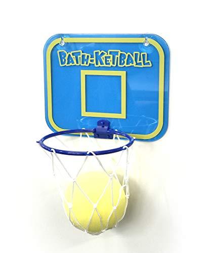 LEADWORKS (レッドワークス) バスケットボール インザバス ブルー W17×D9cm×21.5cm バスケットボール インザバス ピンク バス お風呂 スポンジ 50756