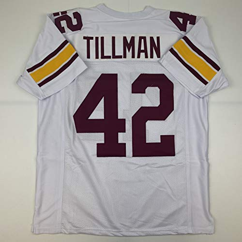 Unsigned Pat Tillman Arizona State White Custom Stitched College Football Jersey Size Men's XL New No Brands/Logos