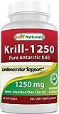 Best Natural Krill Oils - Best Naturals Pure Antarctic Krill Oil 1250 mg Review