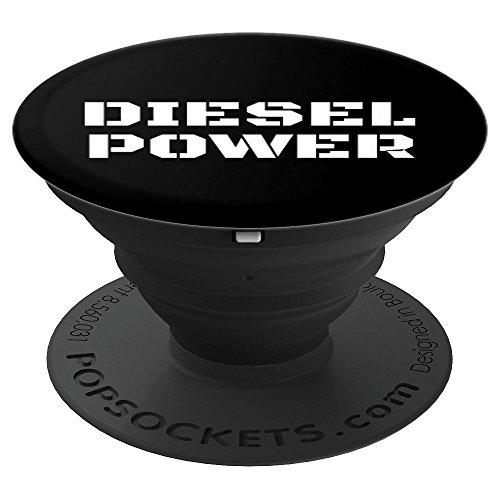 Diesel Power Mens Diesel Power Life Mechanic Kickstand - PopSockets Ausziehbarer Sockel und Griff für Smartphones und Tablets
