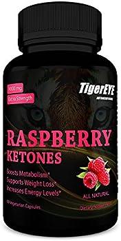 60-Count 100% Pure Raspberry Ketones Extract New Extra Strength