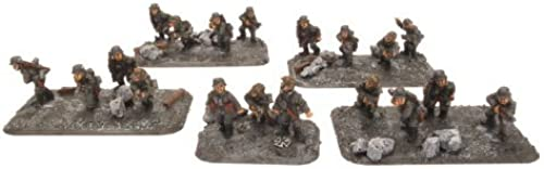 Flames Of War German Oberfeldwebel Schmidt with Assault Troop by Flames of War
