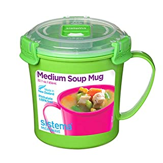 Sistema Microwave Soup Mug, 2.8 Cup, Medium (B0091CQ7SM) | Amazon price tracker / tracking, Amazon price history charts, Amazon price watches, Amazon price drop alerts