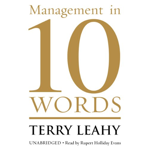 Management in 10 Words audiobook cover art