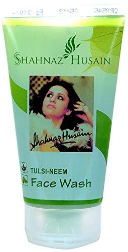 Glamorous Hub Shahnaz Husain Tulsi Neem Limpiador facial, 50 g